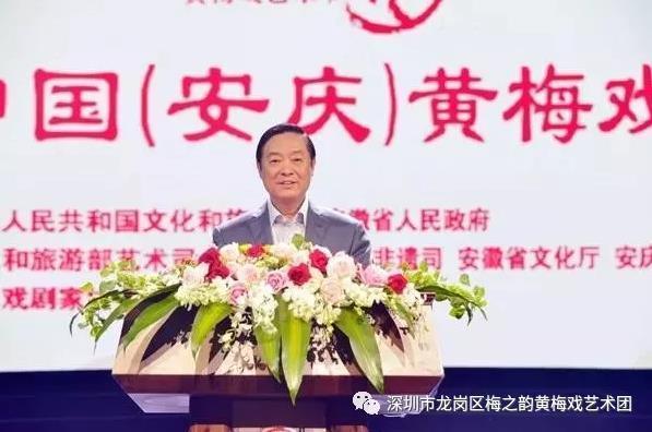 第8届中国(安庆)黄梅戏艺术节开幕式