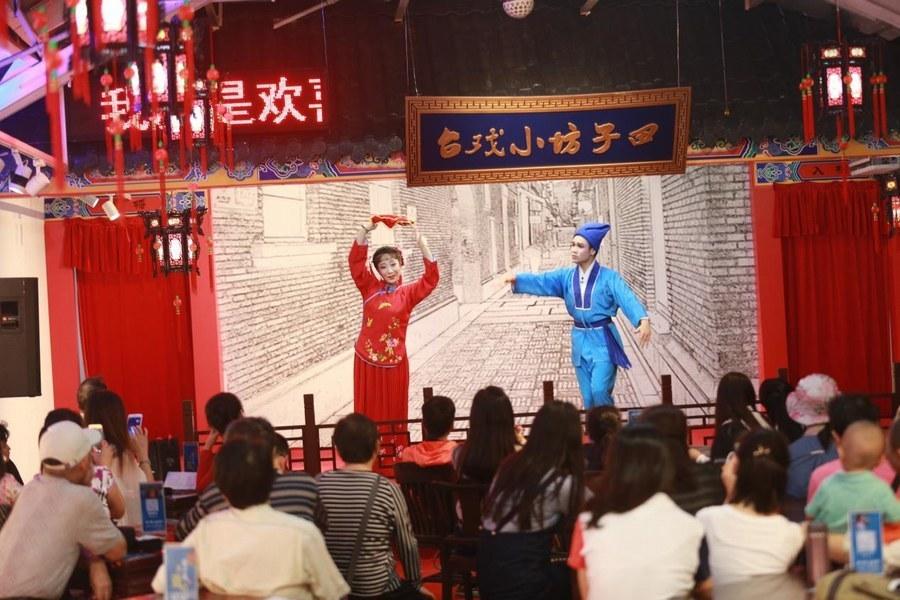 上海黄梅戏艺术团,上海黄梅戏社团,上海皖约黄梅戏剧团演出照